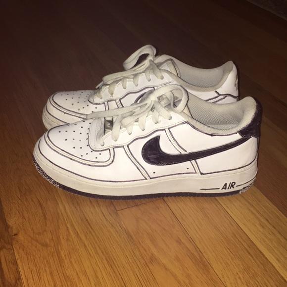 official photos c0b99 6d406 Nike af1 low customized